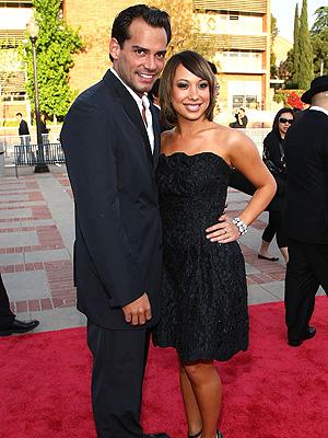 Christian de la Fuente y Cheryl Burke