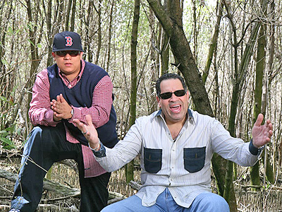 Hector El Father y Tito Nieves
