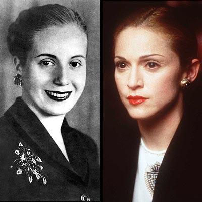 Eva Perón, Madonna