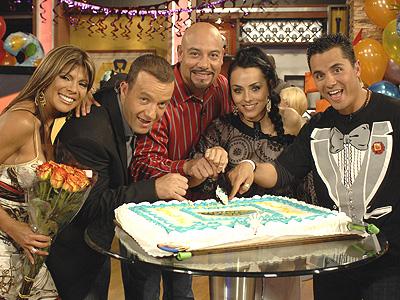 Mireya, Alejandro Blanco, Edgar Lopez, Ivonne Montero y Karim Mendi