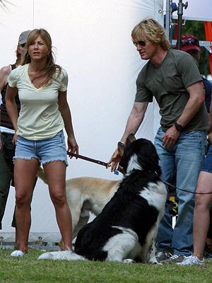 Owen Wilson y Jennifer Aniston