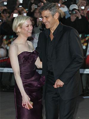 Renée Zellweger, George Clooney