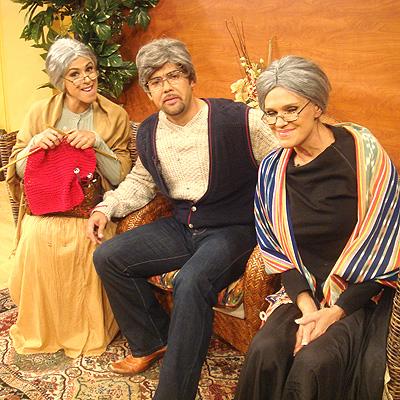 Rogelio Martinez, Marisa del Portillo y Charityn