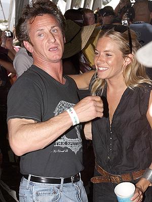 Sean Penn y Sienna Miller