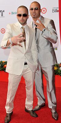 Wisin y Yandel, Mejor y peor vestidos del 2008