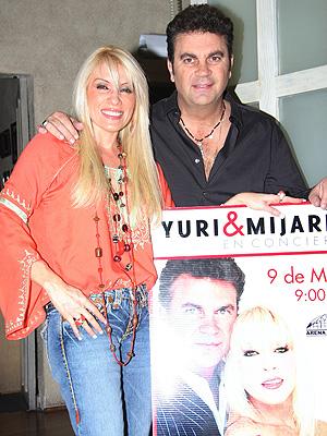 Yuri y Manuel Mijares