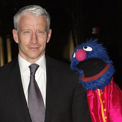 Anderson Cooper y Grover