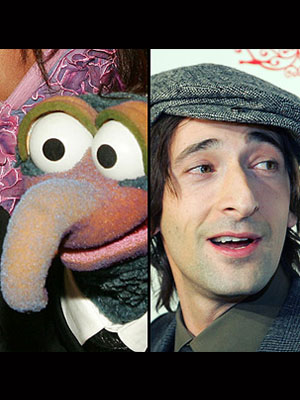 Gonzo and Adrien Brody