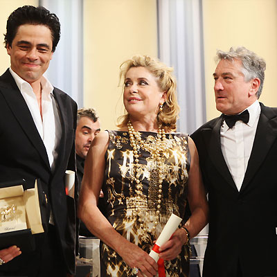 Benicio Del Toro, Catherine Denueve, Robert De Niro