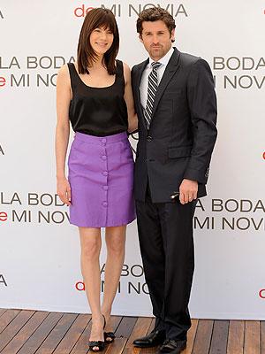Patrick Dempsey y Michelle Mognahan