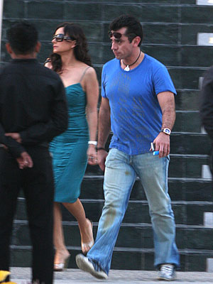 Elizabeth Alvarez y Jorge Salinas