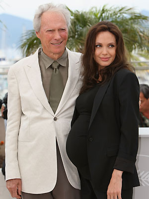 Clint Eastwood y Angelina Jolie