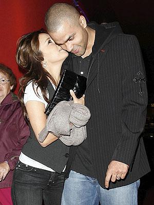Eva Longoria y Tony Parker