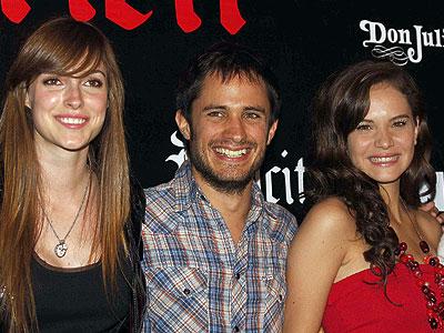 Pamela Reiter, Gael García y Luz Capriota