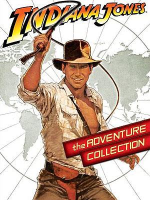 Indiana Jones Adventure Collection DVD