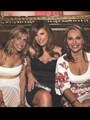 Lili Estefan, Daisy Fuentes, María Elena Salinas