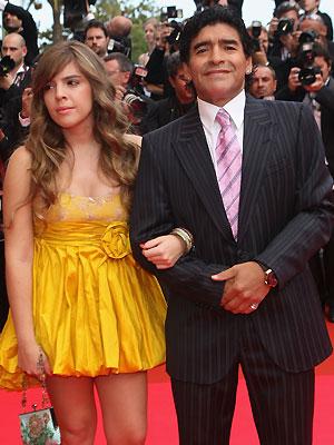 Maradona e hija
