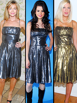 Denise Richards, Selena Gomes, Tori Spelling