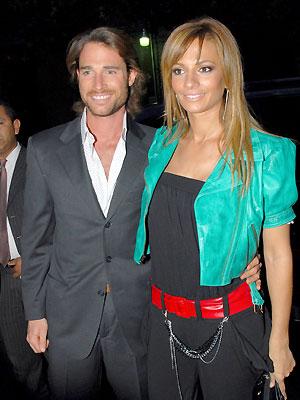 Sebastian Rully y novia