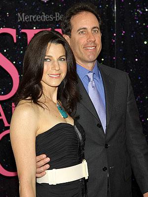Jerry Seinfeld y esposa