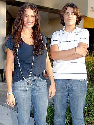 Sofia Vergara con hijo Manolo