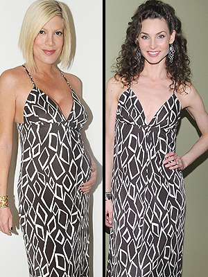 TORI SPELLING AND ALICIA MINSHEW