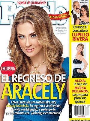 Aracely Arámbula, People En Español, portada