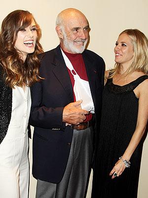 Sean Connery, Kiera Knightly, Sienna Miller