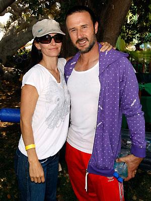 Courtney Cox y David Arquette