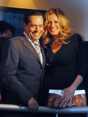 Rebeca de Alba y Juan José Origel