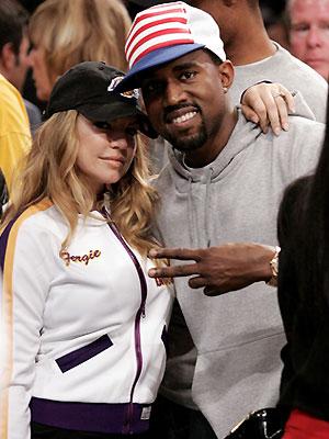 Fergie y Kanye West