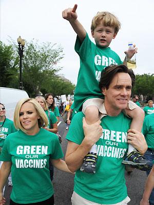 Jim Carrey y Jenny McCarthy