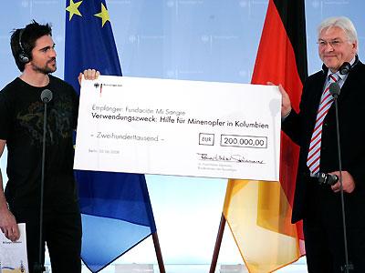 Juanes en Alemania