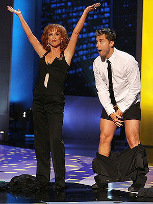 Kathy Griffin y Lance Bass