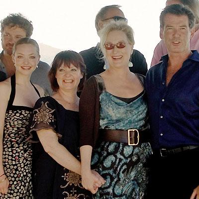 Colin Firth, Amanda Seyfried, Mona Norklit, Meryl Streep, Pierce Brosnan
