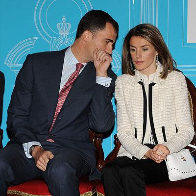 Letizia Ortiz, Felipe de Borbón, Príncipes de Asturias