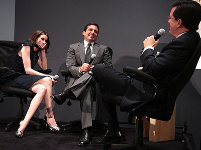 Steve Carell,Anne Hathaway