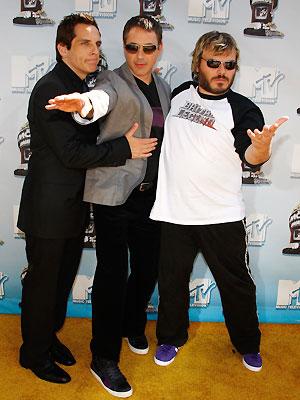 Ben Stiller, Robert Downey Jr. y Jack Black
