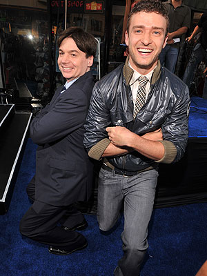 Justin Timberlake y Mike Myers