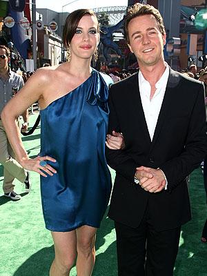 Liv Tyler y Edward Norton