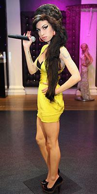 Amy Winehouse, Figura de cera