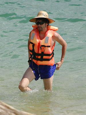 Benny Ibarra, Vacaciones con los famosos