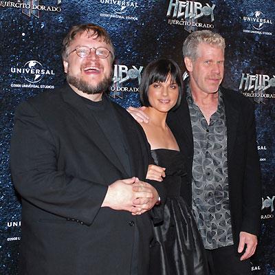 Guillermo del Toro, Ron Perlman, Selma Blair