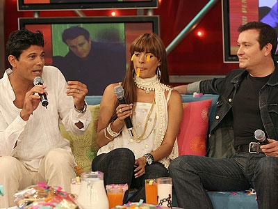Galilea Montijo, Francisco Gatorno y Arturo Peniche