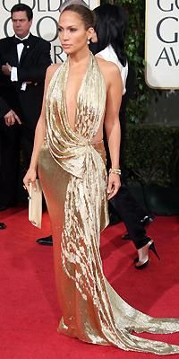 Jennifer López, Golden Globes bien vestidos