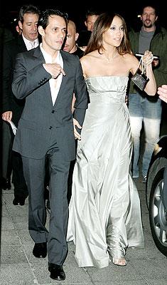 Marc Anthony y Jennifer López en Berlín.