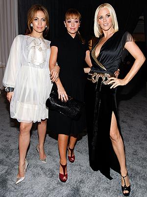 Jennifer López, Leah Remini, Jenny McCarthy
