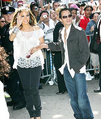 Jennifer López y Marc Anthony en El Bronx