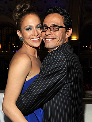 Jennifer López, Marc Anthony, Gala Inaugural Latina