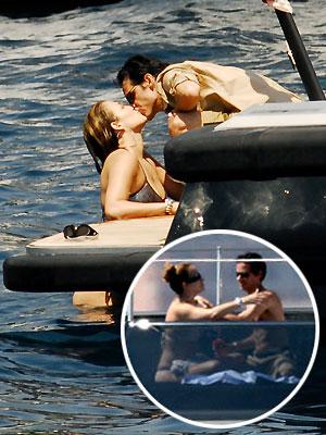 Jennifer López, Marc Anthony, Vacaciones con los famosos